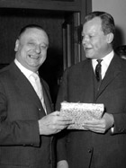 with Willy Brandt